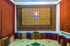 Ashgabat Turkmeński Dywanowy muzeum 02 obraz royalty free
