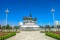 Ashgabat Turkmenistan Akhal Teke 03 royaltyfri bild