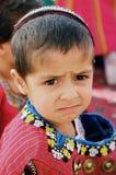 Ashgabat, Turkmenistan - August 26.  Portrait of  unidentified s Royalty Free Stock Photo