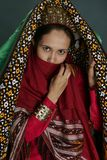 Ashgabat, Turkmenistan - Juli 29 Portret van jonge unidentif Royalty-vrije Stock Fotografie