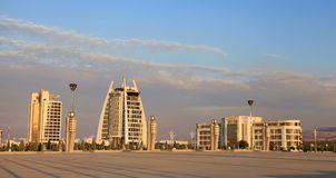 Ashgabat Turkmenistan, Kwiecień, - 28, 2017 Część sporta compl Obraz Royalty Free