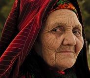 Ashgabat Turkmenistan, Kwiecień, - 02, 2013 Portret stary uniden Zdjęcie Stock