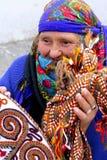 Ashgabat Turkmenistan, Luty, - 26 Portret stary unidentif Zdjęcia Stock