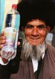 Ashgabat, Turkmenistan - March 09. Portrait Of Turkmen Man In T Stock Photos