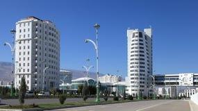 Ashgabat, Turkmenistan - Oktober 23, 2014: Een deel van complex - Royalty-vrije Stock Foto
