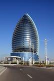 Ashgabat, Turkmenistan - Oktober 15, 2014: Moderne architectuur o Stock Foto's