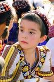 Ashgabat Turkmenistan, Sierpień, - 26 Portret niezidentyfikowany s Zdjęcia Royalty Free