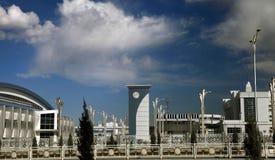 Ashgabat, Turquemenistão - 6 de abril de 2017 Parte do compl do esporte Fotografia de Stock Royalty Free