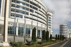 Ashgabat, Turquemenistão - 20 de outubro de 2015 Parte do esporte co Imagem de Stock Royalty Free