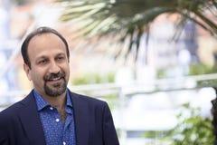 Ashgar Farhadi присутствует на ` ` Forushande продавца Стоковое фото RF