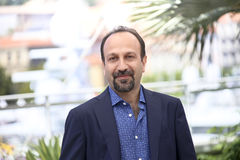 Ashgar Farhadi attends `The Salesman Forushande`. Photocall during the 69th Cannes Film Festival at the Palais on May 21, 2016 in Cannes, France Royalty Free Stock Photo