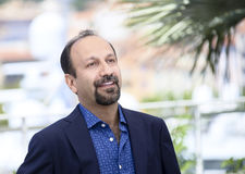 Ashgar Farhadi attends `The Salesman Forushande`. Photocall during the 69th Cannes Film Festival at the Palais on May 21, 2016 in Cannes, France Royalty Free Stock Photos