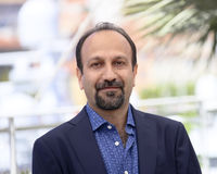 Ashgar Farhadi attends `The Salesman Forushande`. Photocall during the 69th Cannes Film Festival at the Palais on May 21, 2016 in Cannes, France Royalty Free Stock Photography