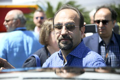Ashgar Farhadi attends `The Salesman Forushande`. Photocall during the 69th Cannes Film Festival at the Palais on May 21, 2016 in Cannes, France Stock Photography