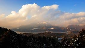 ashi Hakone jeziorna góra Obrazy Stock