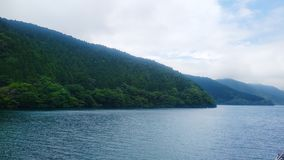 Ashi lake stock photo