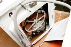 Ashing maskin av rörmokerihjälpmedel Arkivbilder