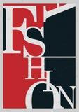 Ashion background, typographics Stock Photo