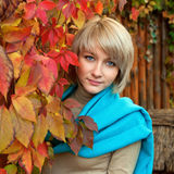 Ashion blondinkvinna Royaltyfri Fotografi