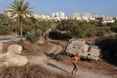 Ashkelon - Israël Stock Foto's