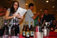 Ashkelon vinfestival Arkivfoton