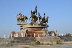 Ashkhabad Il Turkmenistan fotografie stock libere da diritti