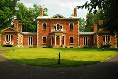 Ashland, estate of Senator Henry Clay. Ashland is a historic home outside of Lexington, Kentucky. It was once the home ogf Senator Henry Clay, who became known royalty free stock images