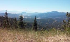 Ashland mountains Oregon. Freestyle camping in the mountains of Ashland royalty free stock photos