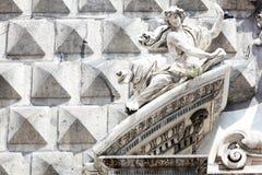 ashlar в историческом центре Неаполь стоковое изображение