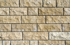 Ashlar wall Royalty Free Stock Photography