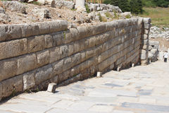 Ashlar wall Stock Photography