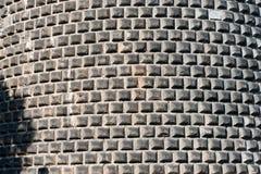 Ashlar Wall made of Grey Stone Stock Photo