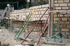 Ashlar wall site Stock Photo