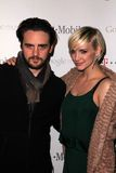 Ashlee Simpson,. Vincent Piazza and Ashlee Simpson  at Google And T-Mobile Celebrate The Launch Of Google Music, Mr. Brainwash Studios, Los Angeles, CA 11-16-11 Stock Image