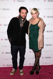 Ashlee Simpson,. Vincent Piazza and Ashlee Simpson  at Google And T-Mobile Celebrate The Launch Of Google Music, Mr. Brainwash Studios, Los Angeles, CA 11-16-11 Stock Photos