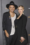 Ashlee Simpson and Evan Ross Stock Photography