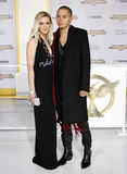 Ashlee Simpson and Evan Ross Stock Image