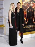 Ashlee Simpson and Evan Ross Stock Photo