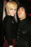 Ashlee Simpson,Pete Wentz,Kanye West Royalty Free Stock Photography