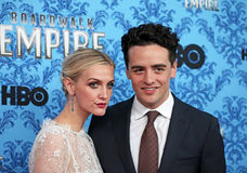 Ashlee Simpson and Vincent Piazza Stock Photo