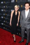 Ashlee Simpson,Vincent Piazza Royalty Free Stock Photo