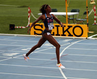 Ashley斯宾塞- 400米的金牌获得者 免版税库存图片