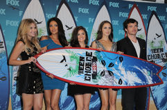 Ashley Benson,Lucy Hale,Troian Avery Bellisario,Ian Harding,Shay Mitchell,Shai Stock Photo