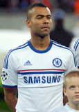 Ashley Cole av Chelsea Arkivbilder