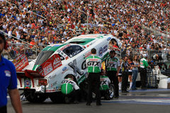 Ashley Force, las vegas 2008 Royalty Free Stock Photography