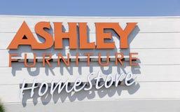 Ashley Furniture Homestore Storefront imagem de stock royalty free