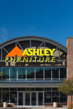 Ashley Furniture lageryttersida Royaltyfria Bilder