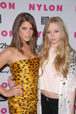 Ashley Greene,Portia Doubleday Royalty Free Stock Photography