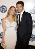 Ashley Hinshaw and Topher Grace Royalty Free Stock Image