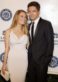 Ashley Hinshaw and Topher Grace Stock Photo